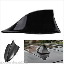 New Wireless 3D Shark Fin Shape Automobile Roof Radio AM/FM Signal Antenna Black