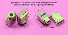 Port composant interne interface universelle audio 3.5mm 6 pis notebook .C101.2