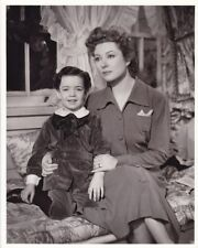 GREER GARSON RICHARD NICHOLS Vintage BLOSSOMS IN THE DUST MGM DBW Portrait Photo