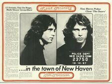 RARE / CARTE POSTALE - THE DOORS : JIM MORRISON / POSTCARD