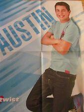 Austin Mahone, Selena Gomez, Double Four Page Foldout Poster