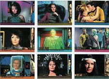 STAR TREK ORIGINAL SERIES 3 SET OF 24 PROFILES CARDS P56-P79