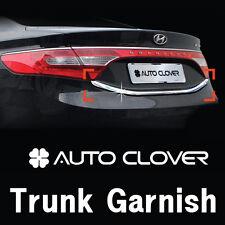 Rear Trunk Garnish Chrome Trim For 2011 2014 Hyundai Azera : Grandeur HG