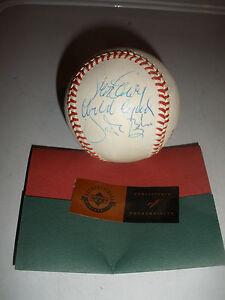 Steve Garvey Orlando Cepeda Vida Blue Signed Auto Baseball with COA UDA