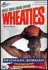 1993 BILINGUAL GENERAL MILLS WHEATIES MICHAEL JORDAN BULLS UNOPENED BOX CEREAL