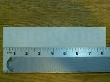 Patagonia White Die-Cut Stickers Decals
