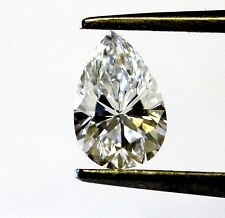 loose GIA certified pear shape 1.02ct diamond SI1 G vintage estate antique