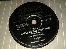 THE RINKY- DINKS (BOBBY DARIN) : EARLY IN THE MORNING / NOW WE'RE ONE. SA.78 rpm