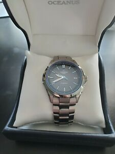 Casio Oceanus Model OCW-S100 Japanese Domestic Market (JDM) solar powered watch