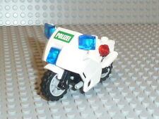 LEGO® City 1x Motorrad Polizei weiß für Figuren aus Set 7325 7237 #553