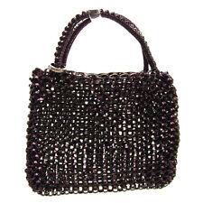 Anteprima Handbag Purple Black Woman Authentic Used G182