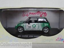 Potatocar : Mini Cooper John Works #30 Green metallic 1:43 New