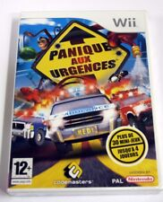 JEU Nintendo WII Panique Aux Urgences    neuf