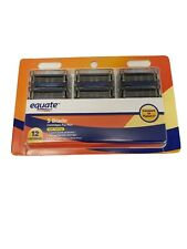 Equate 5 Blade Razor Refill Cartridges With Trimmer For Men 12 ct (NEW SEALED)