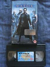 THE MATRIX VHS VIDEO. EAN: 5014780169852. Cert.15. Reeves, Fishburne, Weaving.