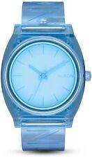 Nixon Men's Time Teller P A1193143-00 40mm Blue Dial Polyurethane Watch