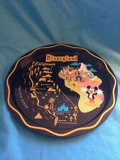 Disney Parks/ Disney Store- Disneyland Map Steel Tray (Retro Look)