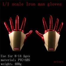 The Avengers Iron Man Gauntlet Glove LED Light Left Right Hand Gloves New In Box