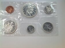 1963 Royal Canadian Mint Proof-Like 6 coin set, 80% silver,