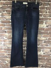 HABITUAL Womans Blue Low Rise Jeans Denim Made in USA SZ 26