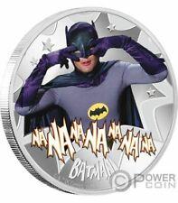 BATMAN CLASSIC TV SERIES BATMAN 1 OZ SILVER COIN NEW.999 SILVER
