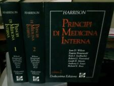 Harrison PRINCIPI DI MEDICINA INTERNA in 2 volumi 12° ed. McGraw Hill 1992