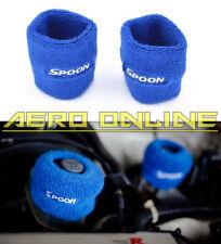 2x Spoon Reservoir Cover Socks For Honda Civic EG EK EP3 FN2 Type R Integra