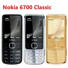 Original Unlocked Nokia 6700 Classic Cell Phone GPS 5MP Cellular Phone