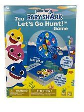 Pinkfong Baby Shark Let's Go Hunt! Card Game Plays Baby Shark Song.