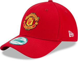 Manchester United New Era 940 Basic Red Cap