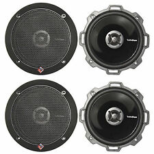 "(4) Rockford Fosgate P152 5-1/4"" 2-way Punch Series Coaxial Car Audio Speakers"