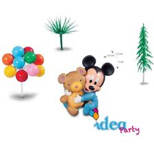Kit torta BABY TOPOLINO compleanno festa party disney cake design accessori