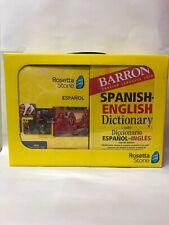 Rosetta Stone Español Spanish [Latin] Level 1-5 set Barron's Dictionary (PC/Mac)