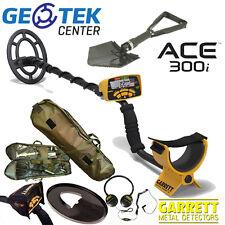 Metal Detector Garrett Ace 300i + Vanga + Zaino Traking