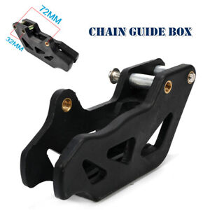 Motorcycle Chain Guide Box Protector Anti Skid Chain Device Gear Cover Universal