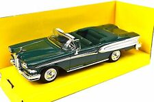 EDSEL CITATION CONVERTIBLE 1958 FORD 1:43 NEW 94222 GREEN LUCKY ROAD SIGNATURE