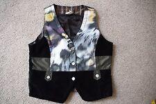 Jottum vest/undershirt EMMY 152 / 12 yrs almost agan black/purple/green