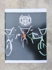 Collectable 2008 Haro Bmx bicycle, product catalog featuring new product line