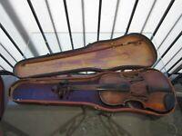 Vintage Hopf Violin ca late 1800