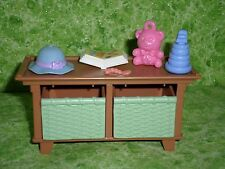 Fisher Price Loving Family Dollhouse Living Room Coffee Table Kids Toy Box