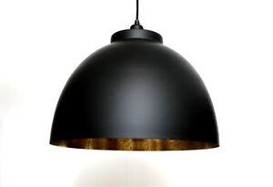 Ceiling Light Black Gold Silver Round Bedroom Living Room Loft