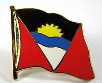 Antigua und Barbuda Flaggen Pin Anstecker,1,5cm,Neu mit Druckverschluss