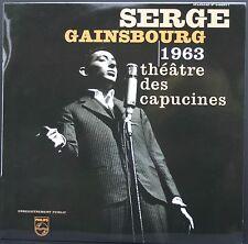 SERGE GAINSBOURG 1963 Théâtre des Capucines LP 33T 30cm 2001 Universal NEUF MINT