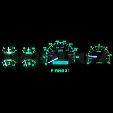 Dash Instrument Cer Gauge Green Led Light Kit Fits 92 96 Ford F150 F250 F350
