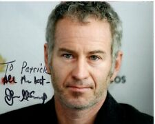 JOHN MCENROE Autographed Signed Photograph - To Patrick
