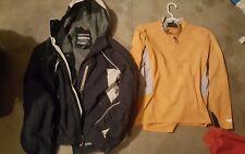 Men's Abercrombie & Fitch A/92 Winter Snow Ski Coat Jacket + Mountain Hard Wear