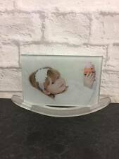 Personalised Photo Glass With Rocking Stand