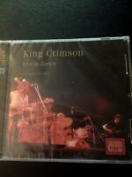 King Crimson - Live in Zürich (Zurich) Nov 15 , 1973 Doppel CD mit 18 Songs  NEU