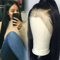 Lace Front 100% Brazilian Human Hair Wig Glueless Full Lace Hair Wigs US Stock