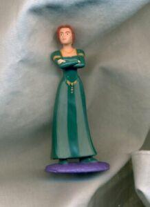 Princess Fiona Shrek 2 Movie General Mills Cereal Box Toy Premium Action Figure
